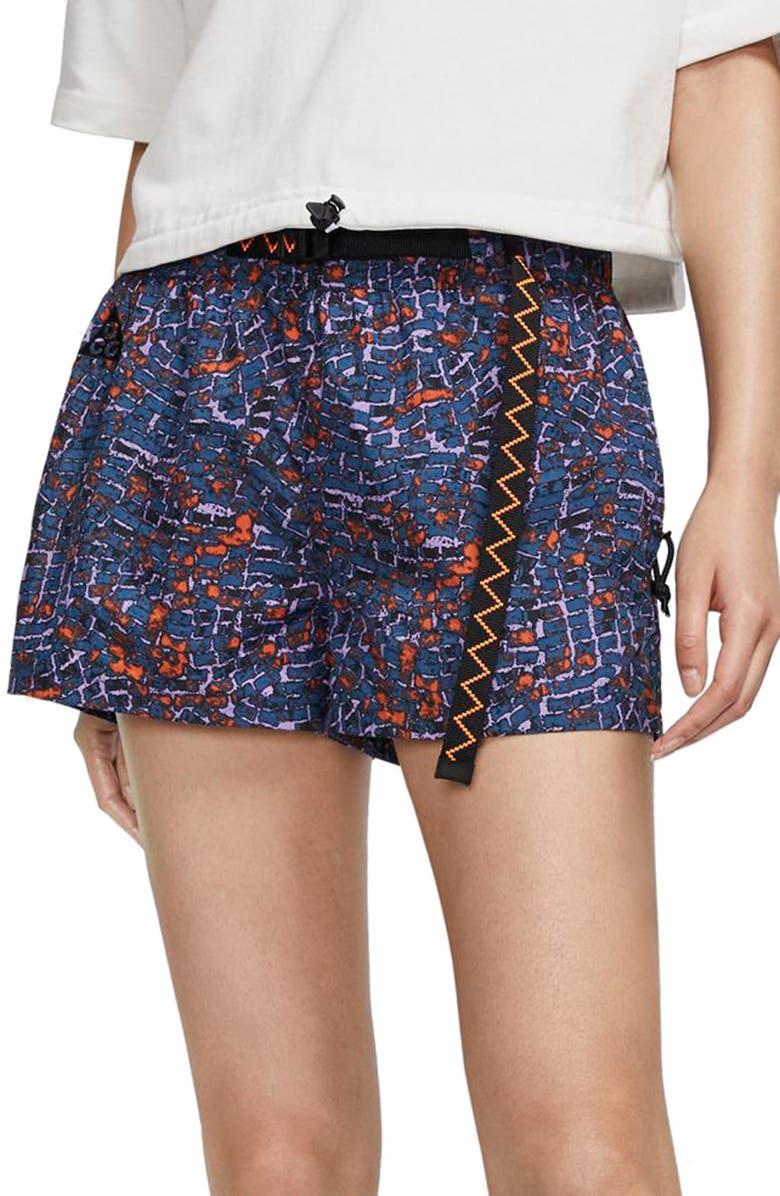 NIKE ACG Women's Shorts, Main, color, MYSTIC GREEN