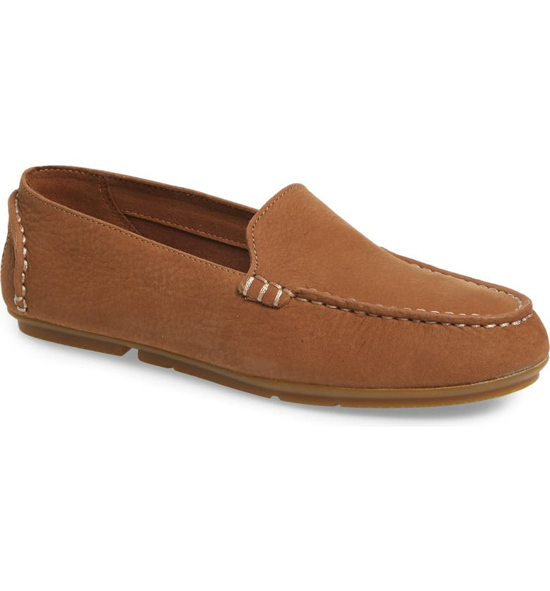 SPERRY Top Sider Bay View Loafer, Main, color, TAN NUBUCK LEATHER
