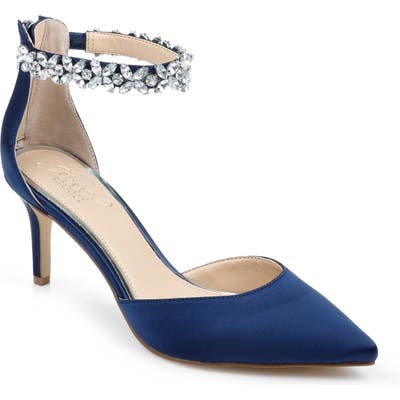 Jewel Badgley Mischka Raleigh Pump, Blue