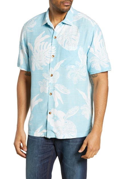 Tommy Bahama T-shirts GEO LEAF CLASSIC FIT CAMP SHIRT