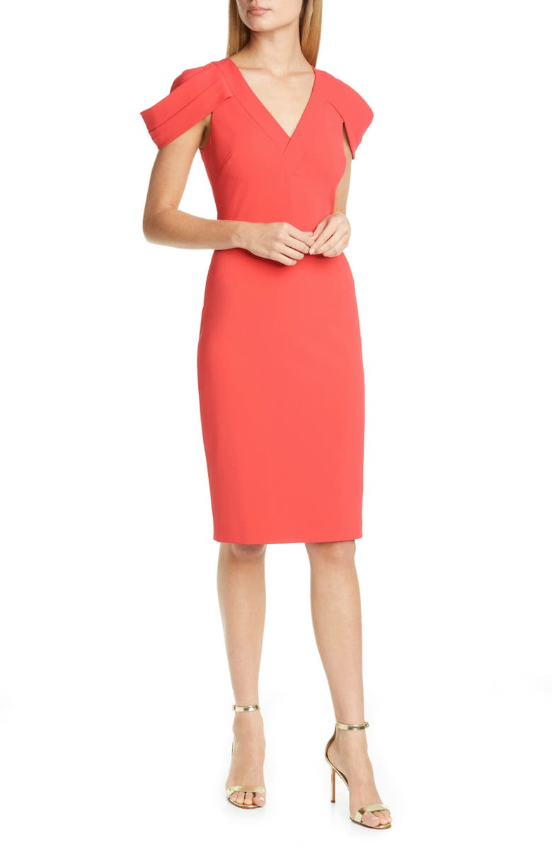 https://www.nordstrom.com/s/badgley-mischka-cold-shoulder-sheath-dress/5573575?origin=keywordsearch-personalizedsort&breadcrumb=Home%2FAll%20Results&color=coral