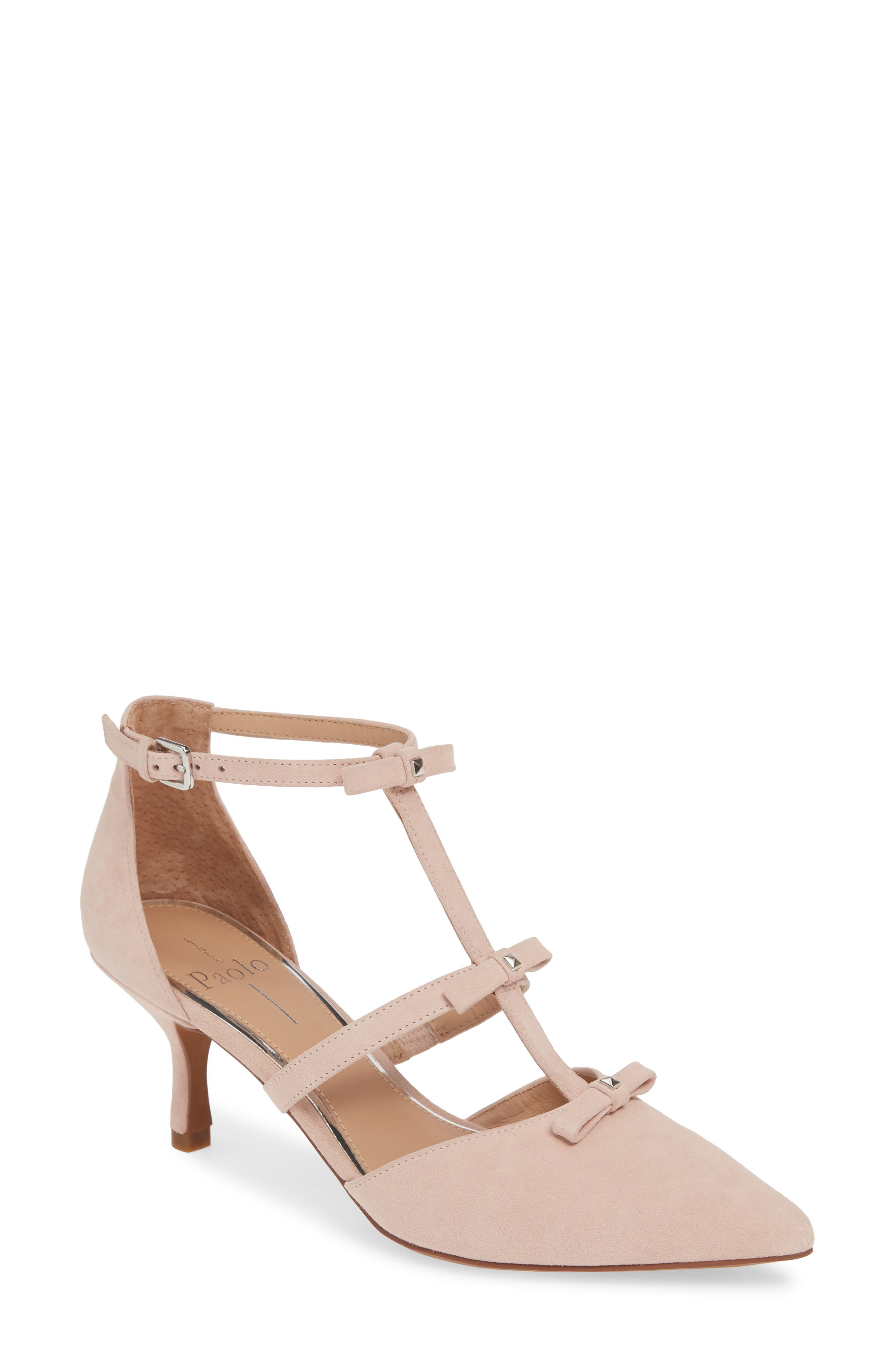 Linea Paolo Calista Strappy Pump- Pink