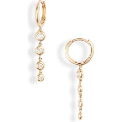 Bony Levy Monaco Bezel Diamond Drop Earrings (Nordstrom Exclusive)