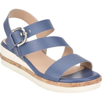 Evolve Kassie Strappy Sandal, Blue