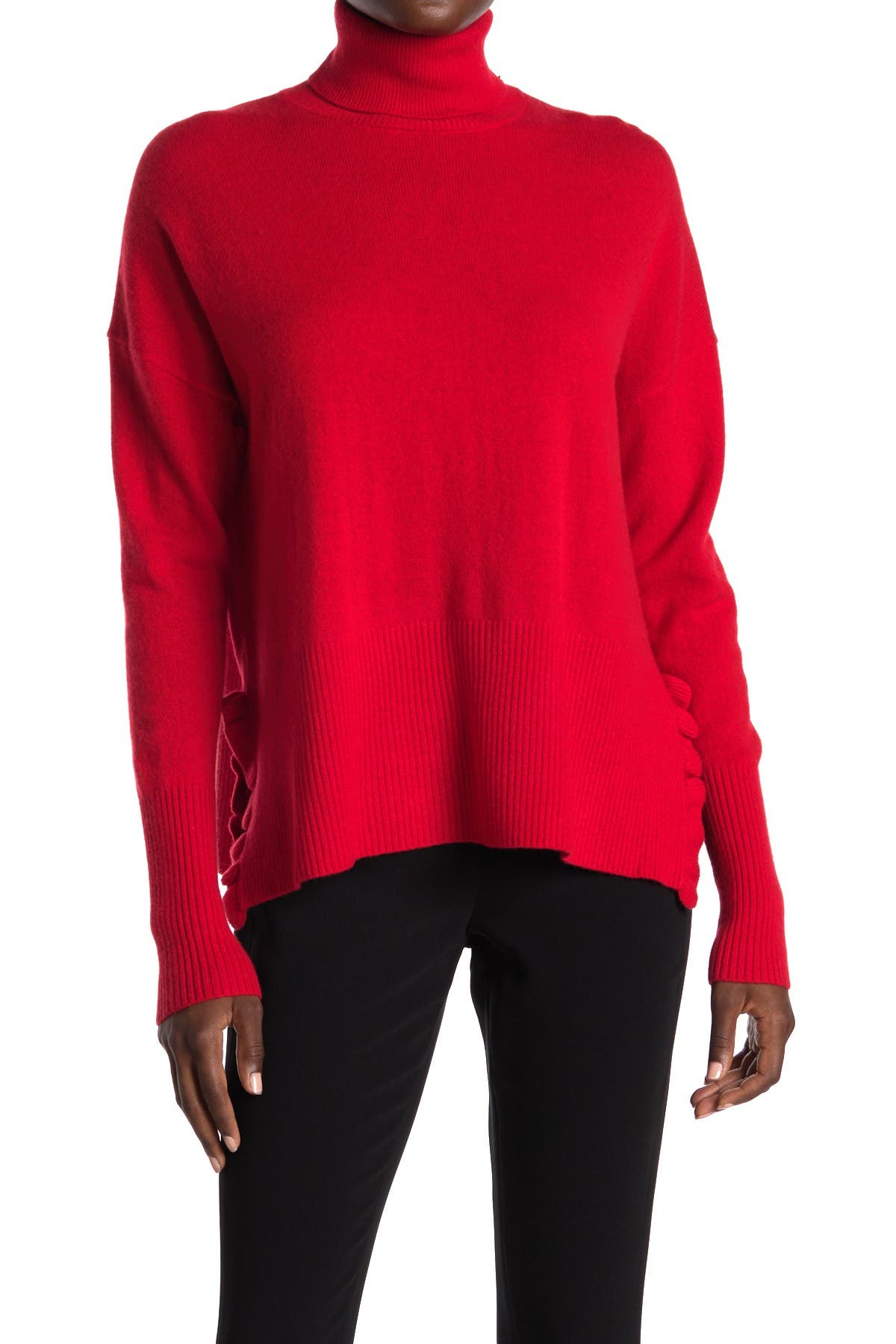 Image of Cinq a Sept Layla Cashmere Turtleneck Sweater