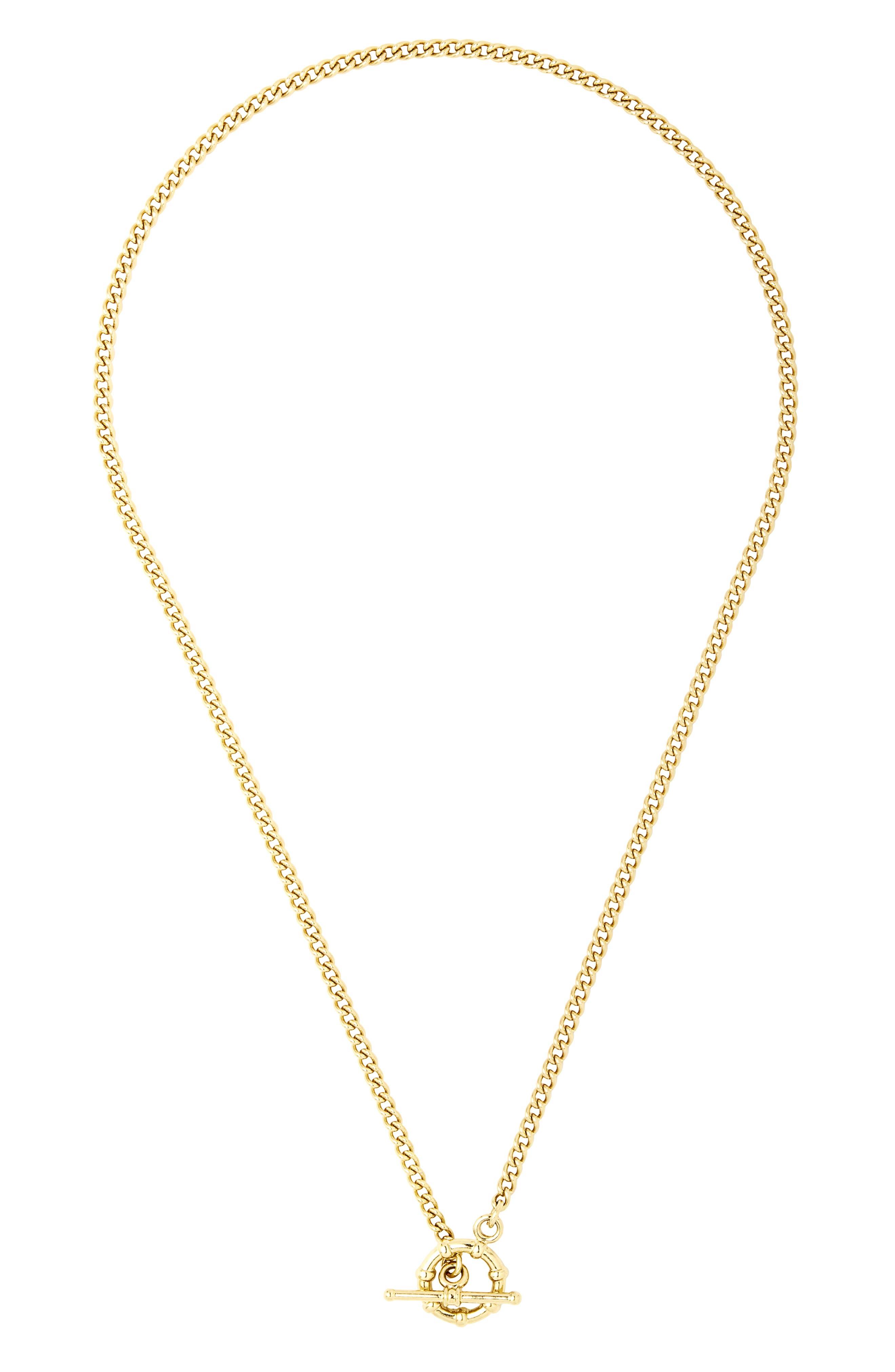 Phoebe Toggle Pendant Necklace