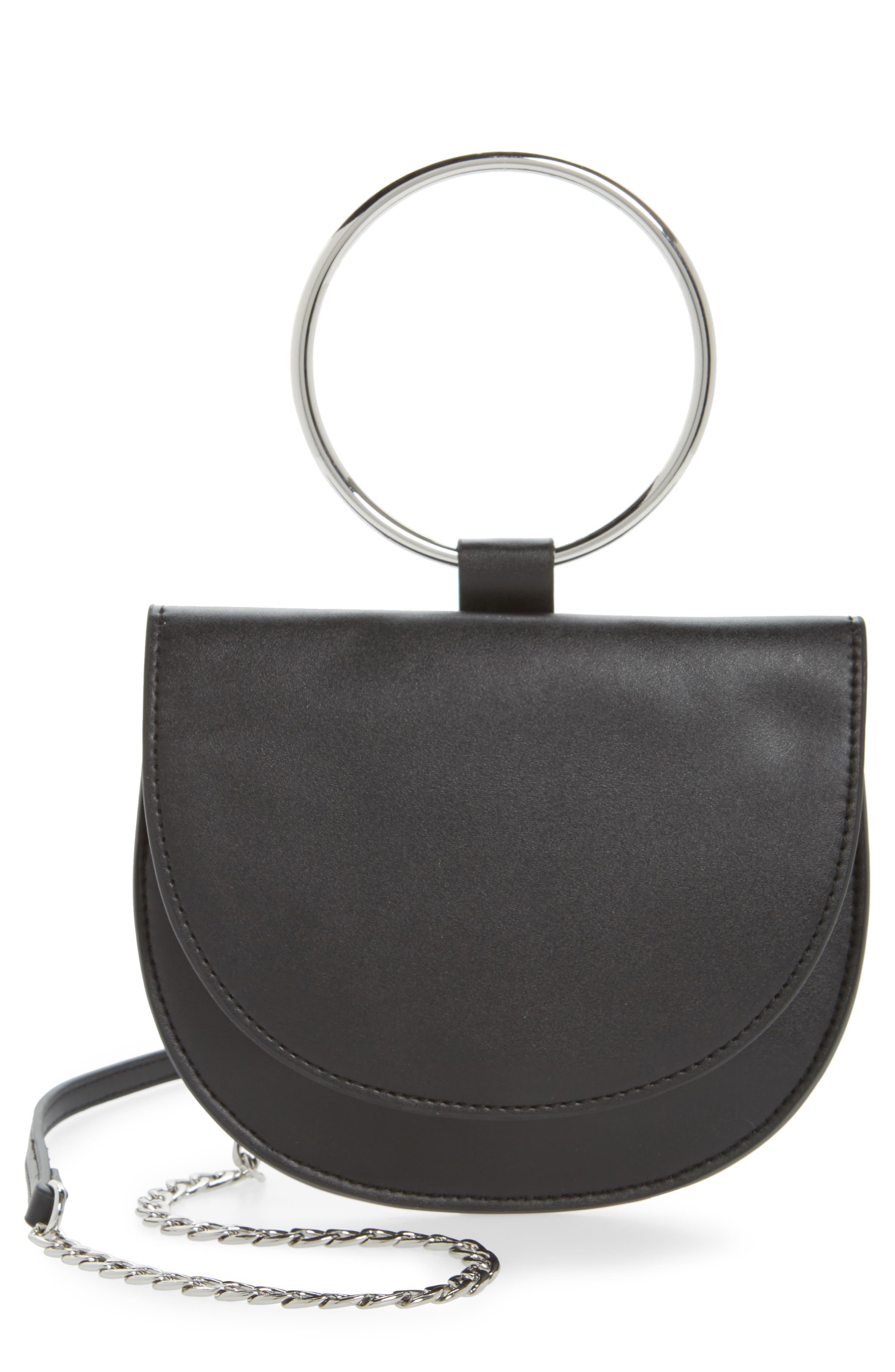 Reese Ring Crossbody Bag, Main, color, 001