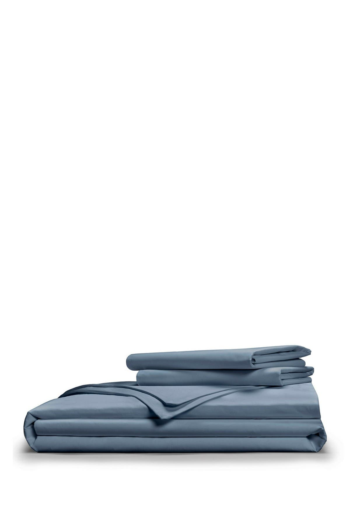 Image of Pillow Guy Full/Queen Luxe Soft & Smooth Tencel Duvet Cover Set - Cadet Blue