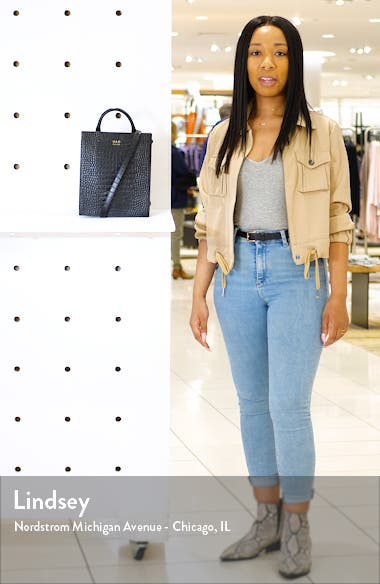 Mini Arc Convertible Leather Backpack, sales video thumbnail