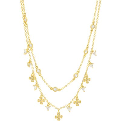 Freida Rothman Harmony Double Strand Necklace