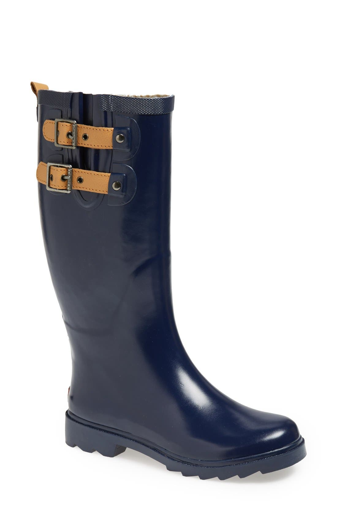 ,                             'Top Solid' Rain Boot,                             Main thumbnail 63, color,                             408