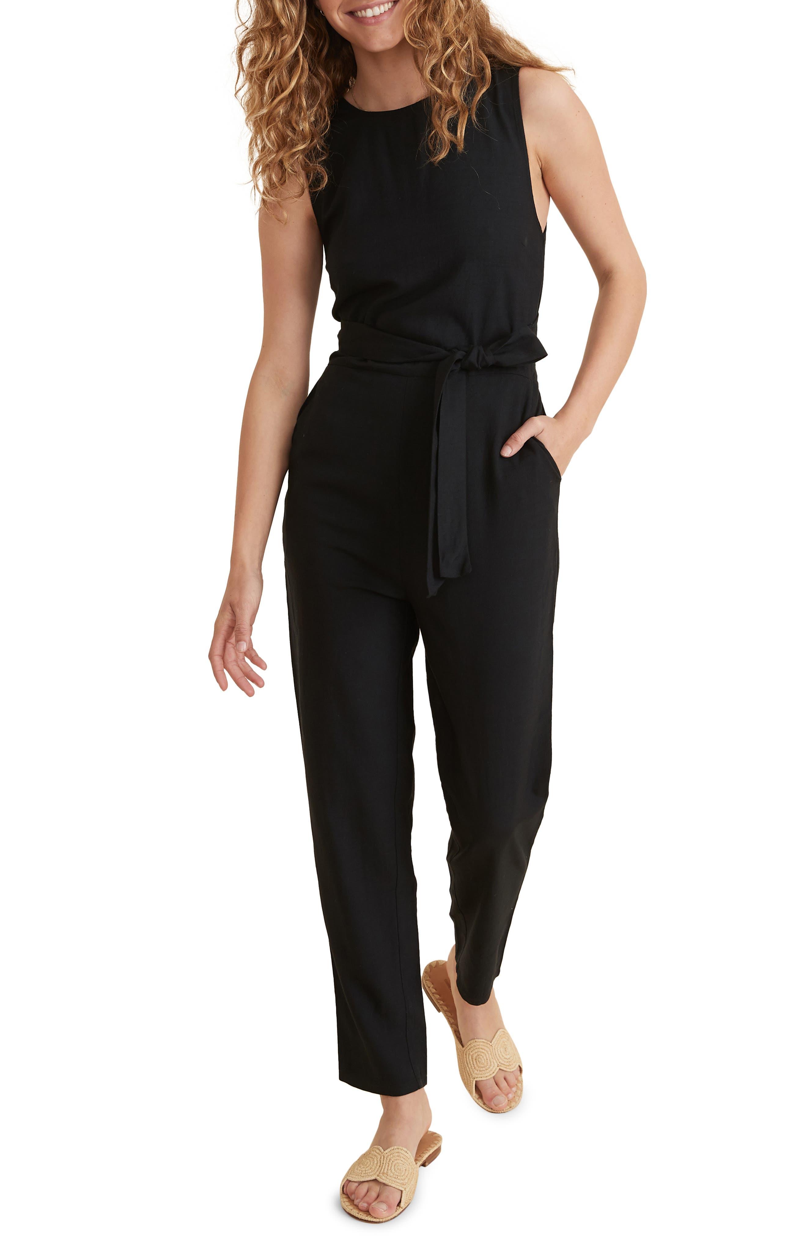 Eloise Belted Jumpsuit