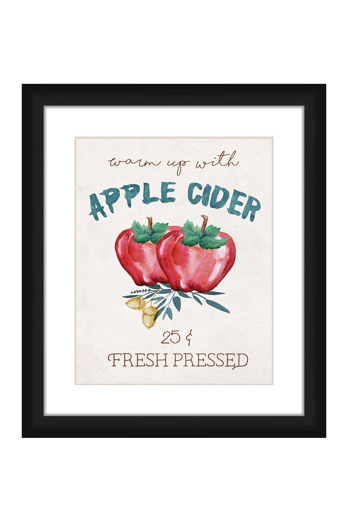 PTM Images Apple Cider Framed Matted Giclee Print