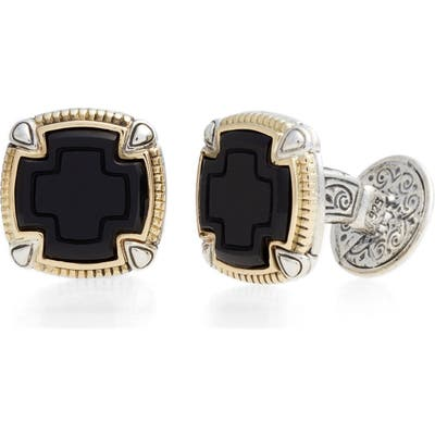 Konstantino Ares Square Cuff Links