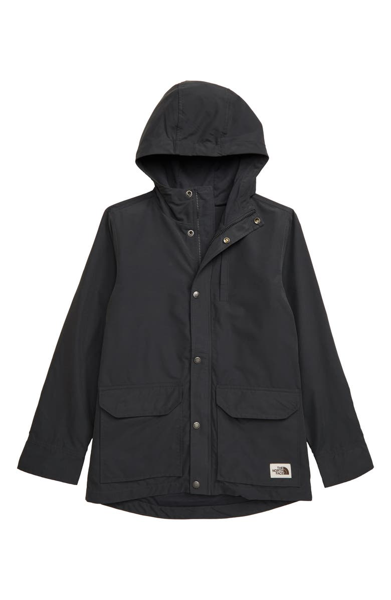 THE NORTH FACE Sierra Water Repellent Utility Jacket, Main, color, ASPHALT GREY