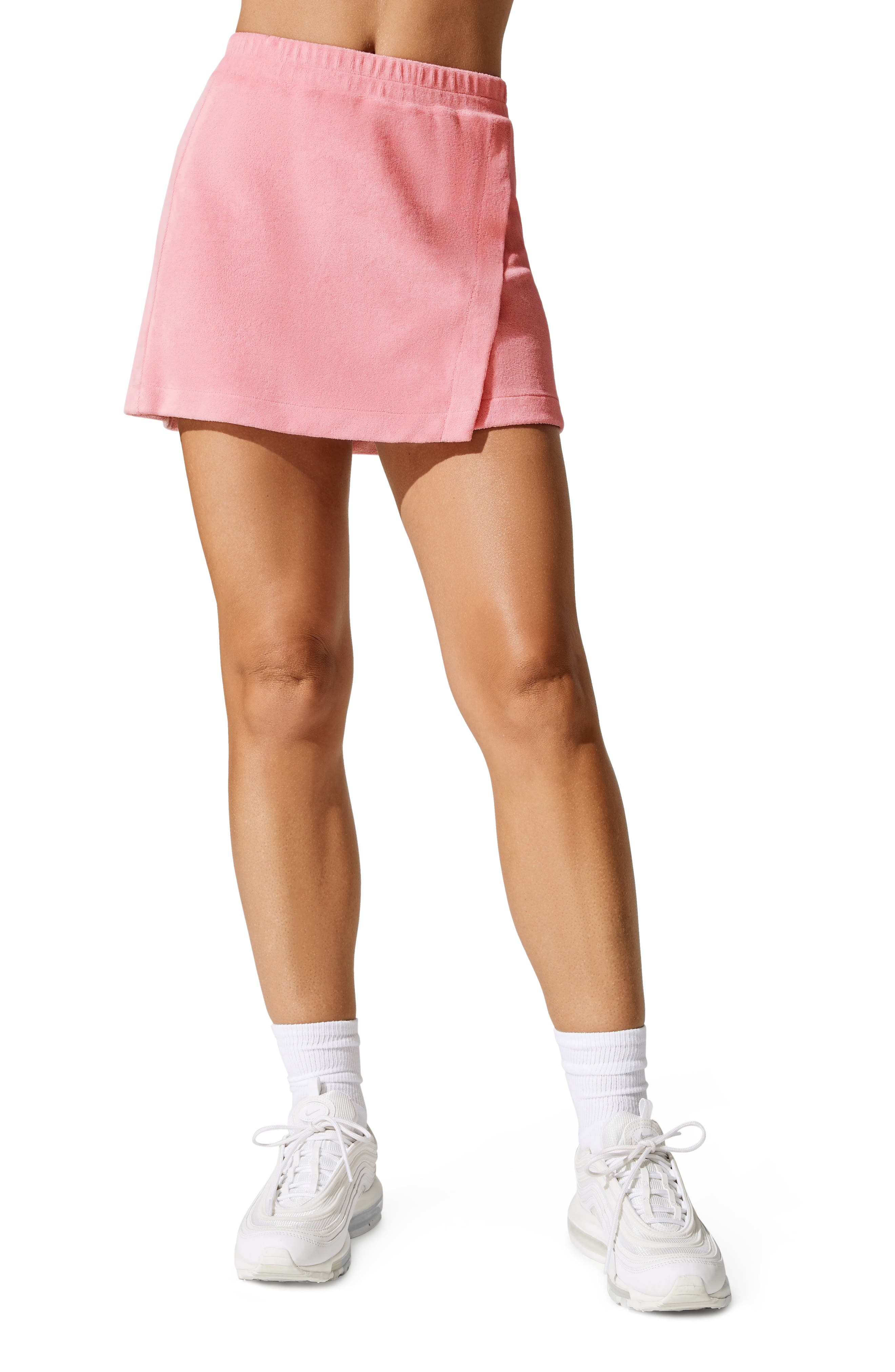X Carbon38 Angled Snap Skirt