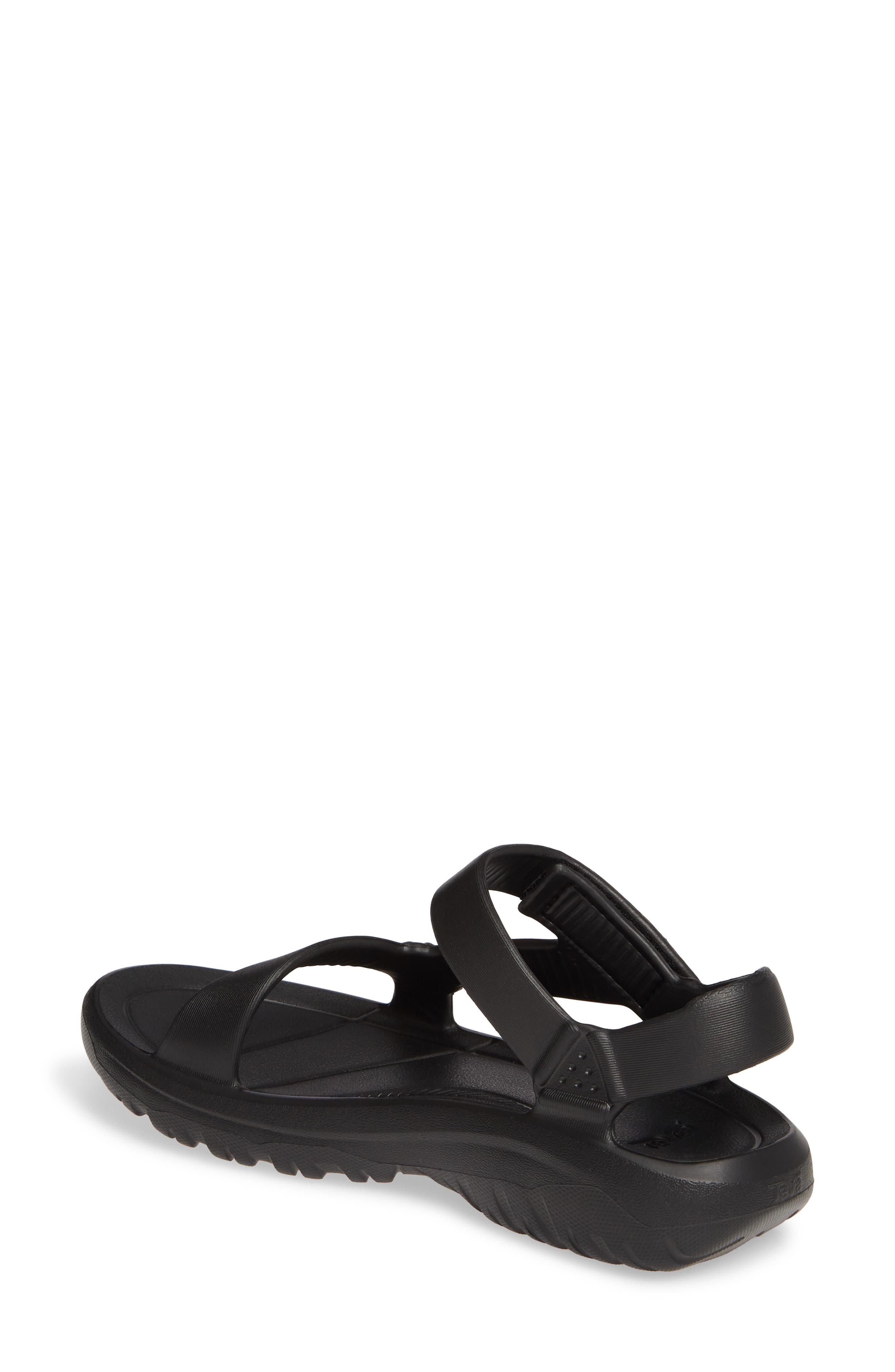 ,                             Hurricane Drift Water Friendly Sandal,                             Alternate thumbnail 2, color,                             BLACK FABRIC
