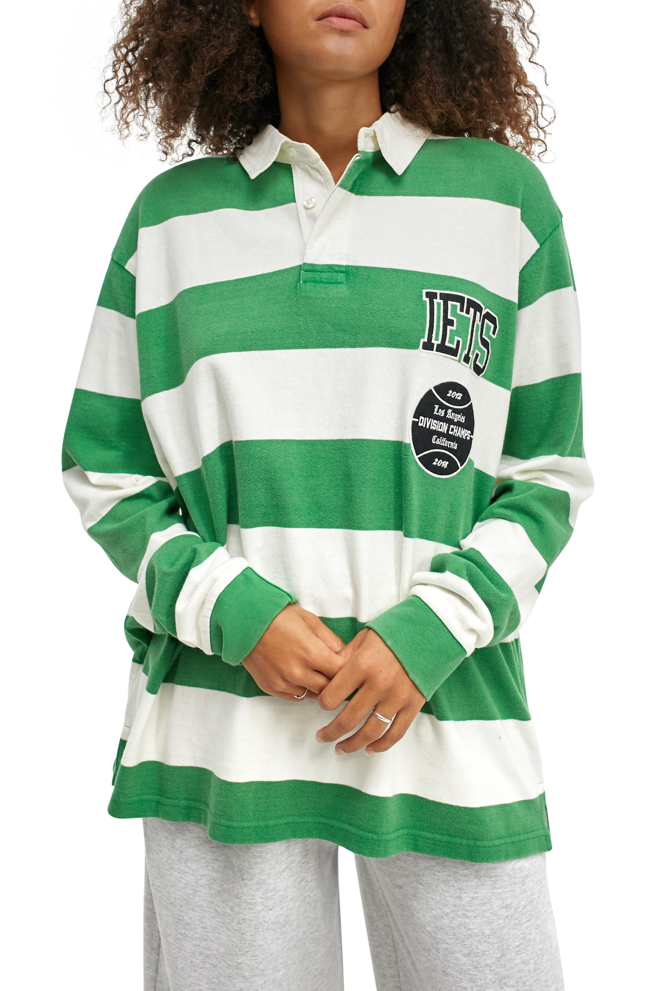 Classic Rugby Long Sleeve Polo Shirt