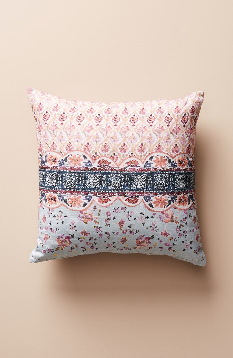 ANTHROPOLOGIE Aurora Accent Pillow, Main, color, 100