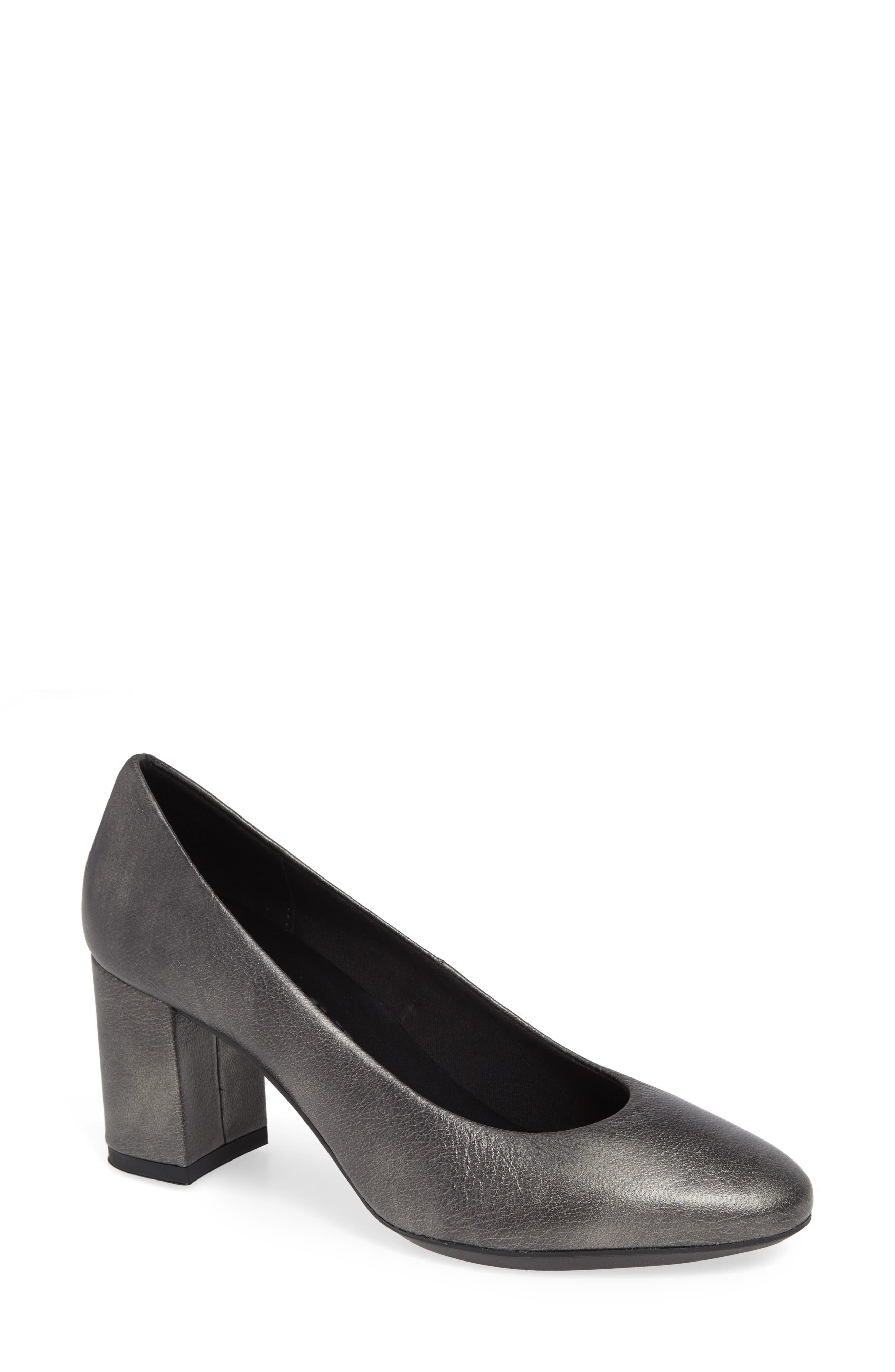 Seriously Pump, Main, color, GREY LEATHER
