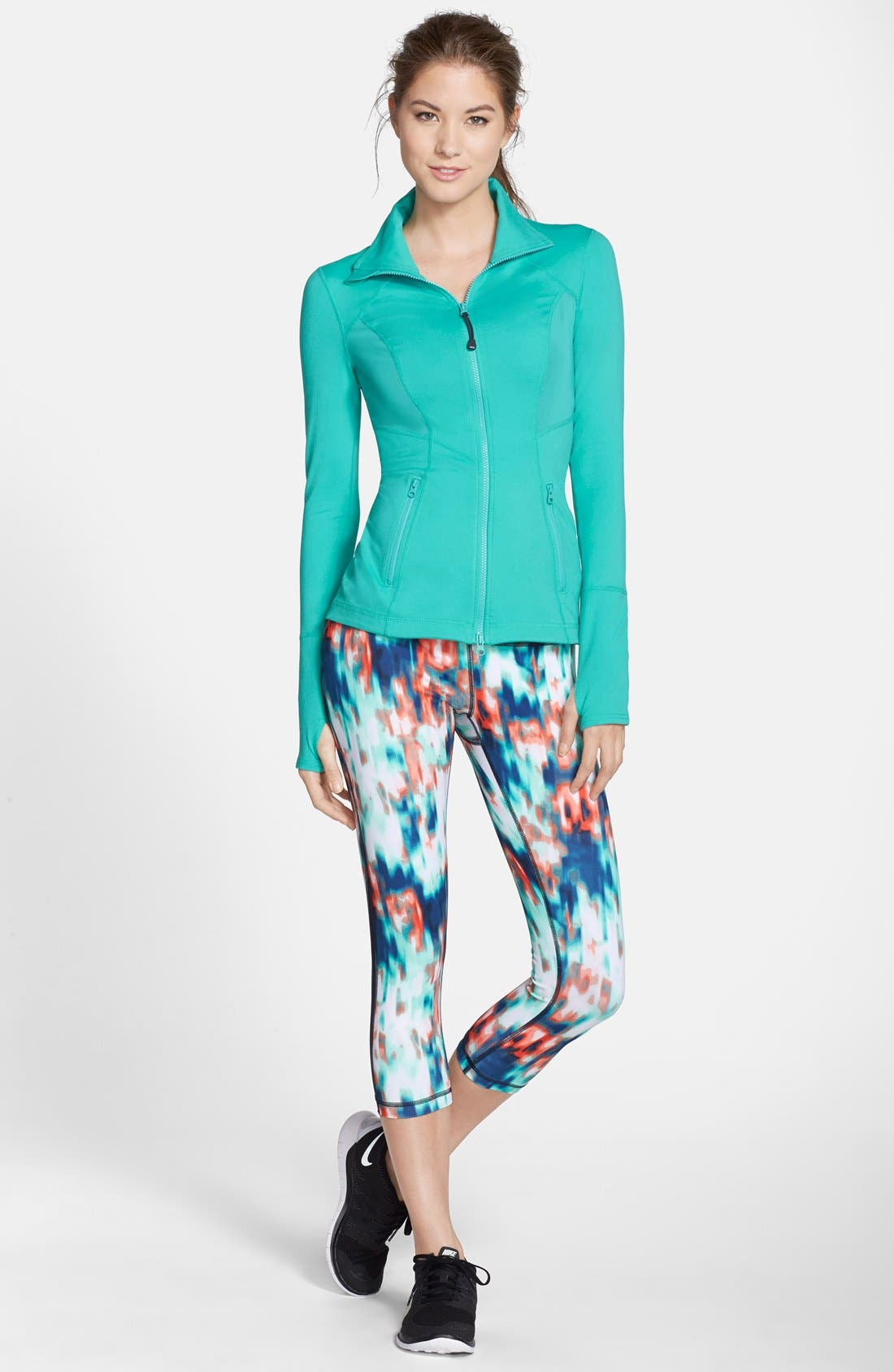 ,                             Live In Streamline Reversible Capris,                             Alternate thumbnail 58, color,                             431