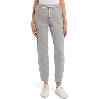 Moncler French Terry Jogger Sweatpants, Grey