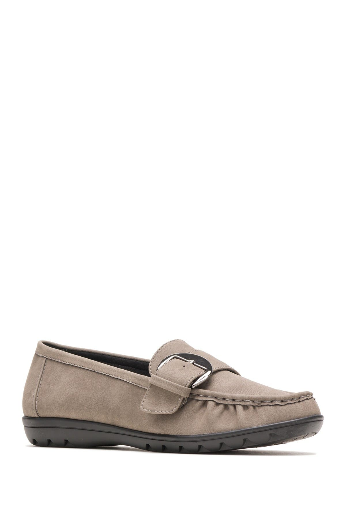 Image of Hush Puppies Vivid Buckle Loafer - Wide Width Available
