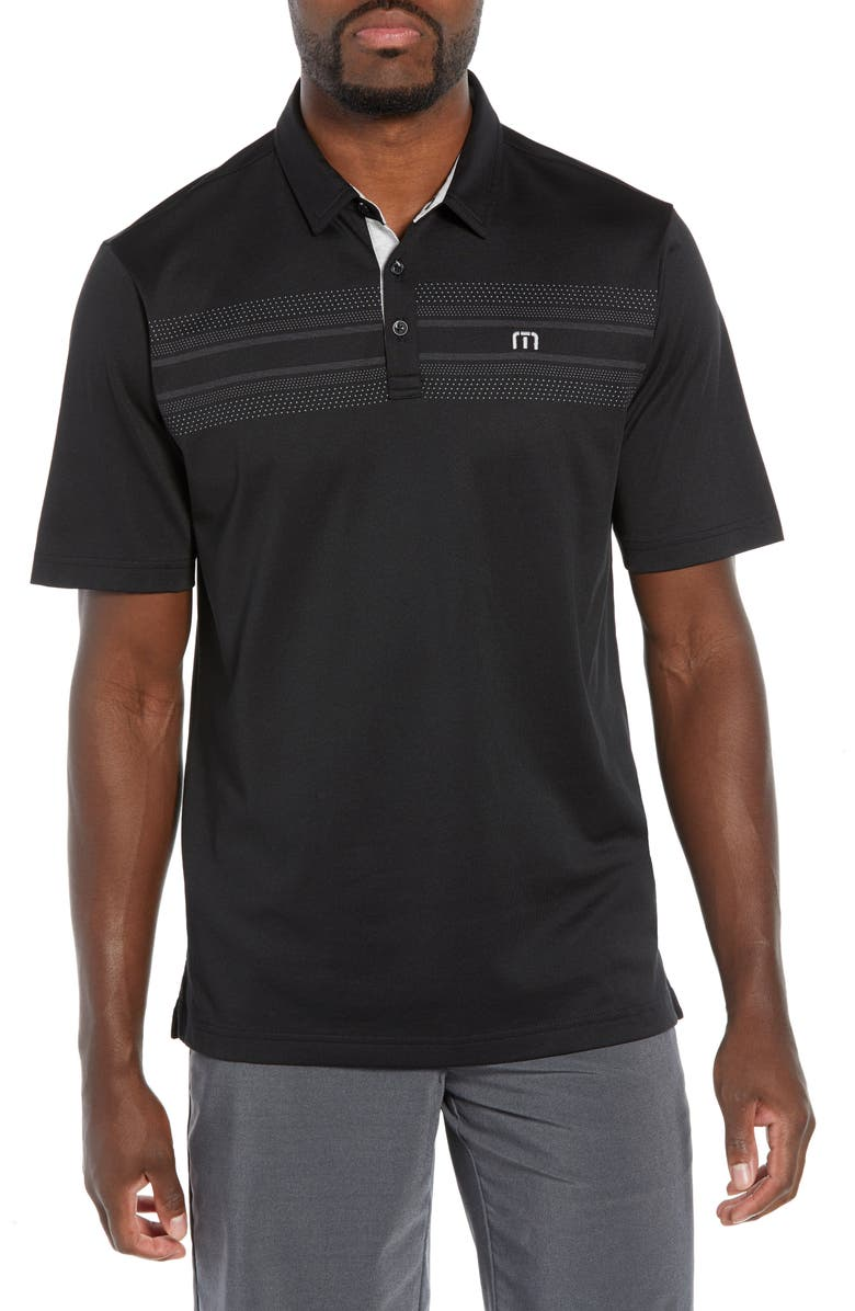 TRAVISMATHEW Crow Polo, Main, color, BLACK