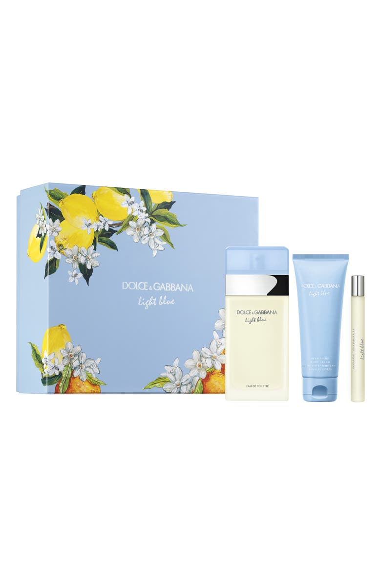 DOLCE&GABBANA Light Blue Eau de Toilette Set, Main, color, 000