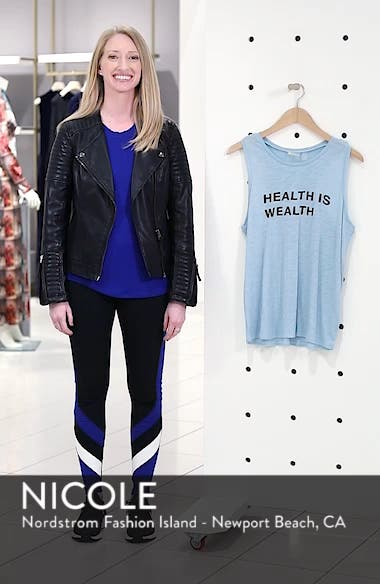Graphic Relaxed Fit Tank, sales video thumbnail
