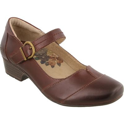 Taos Balance Mary Jane Pump, Brown