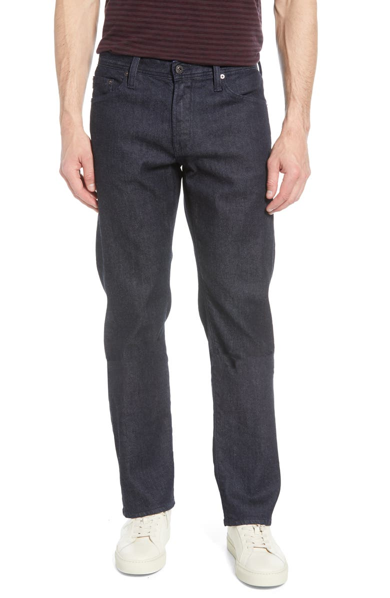 AG Protégé Straight Leg Jeans, Main, color, TIMBRE