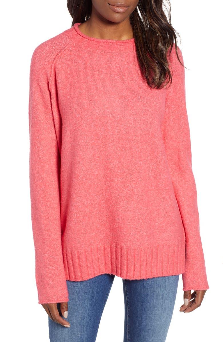 4fbdc9a309 Caslon® Cozy Crewneck Sweater (Regular   Petite)