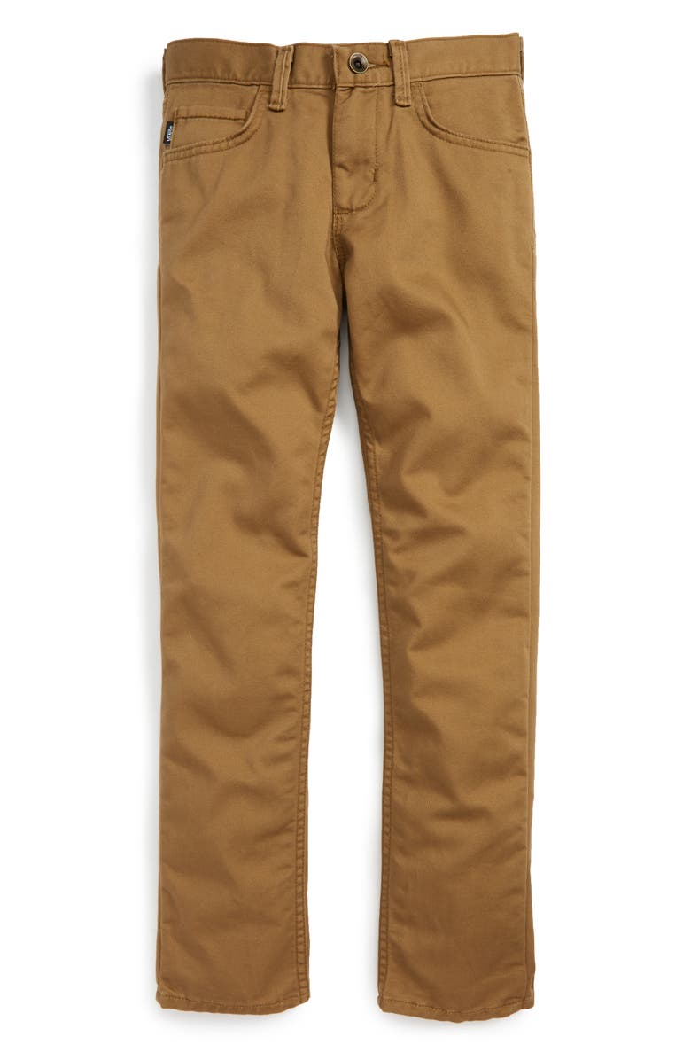 VANS 'V56 Standard AV Covina' Pants, Main, color, DIRT