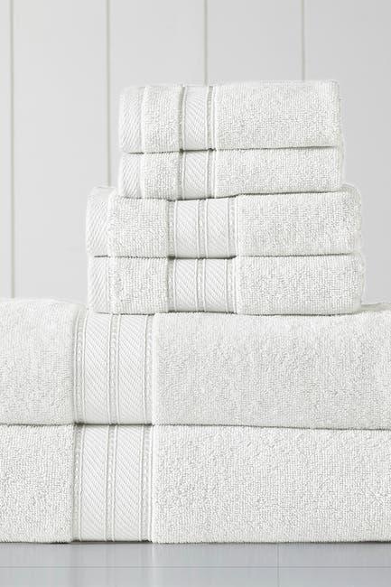 Image of Modern Threads SpunLoft 6-Piece Towel Set - White