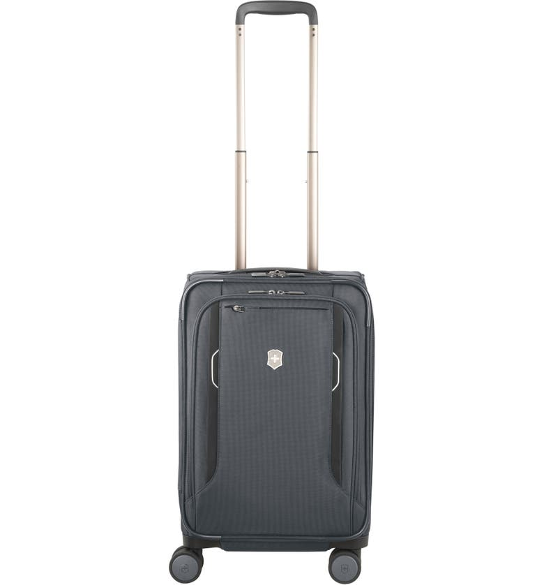 VICTORINOX SWISS ARMY<SUP>®</SUP> Werks 6.0 Frequent Flyer 22-Inch International Spinner Carry-On, Main, color, 020