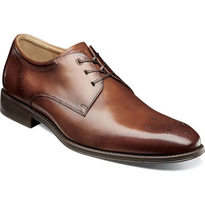 Florsheim Cardinelli Medallion Toe Derby, Brown