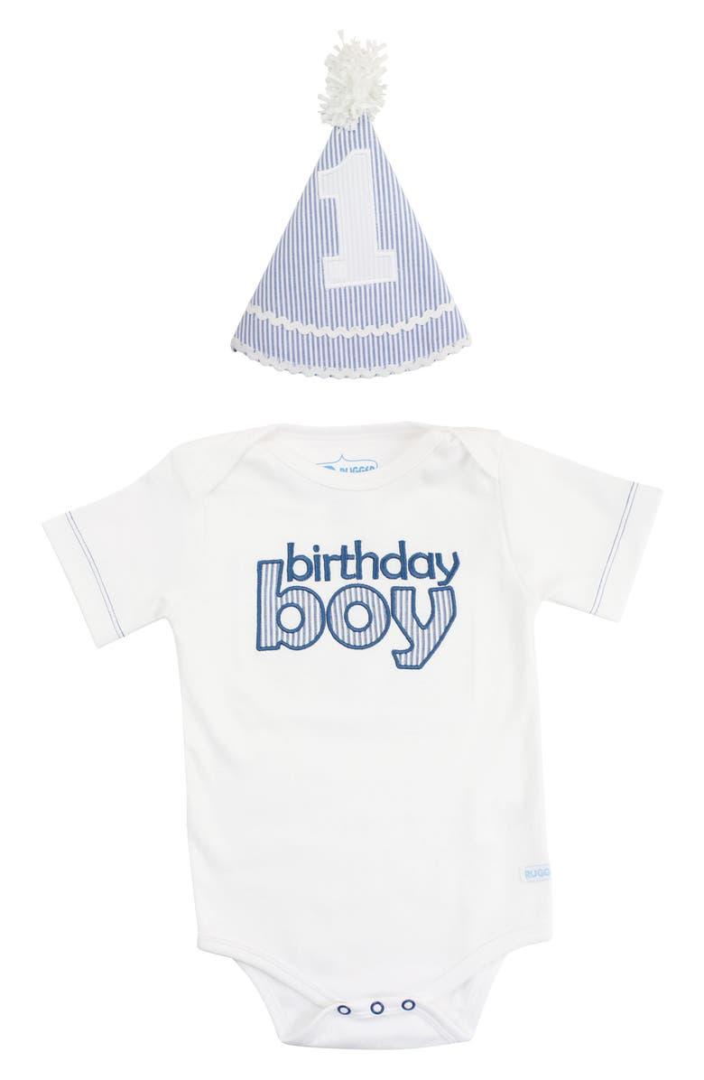 4aeaa5352a662 Birthday Boy Party Hat & Bodysuit