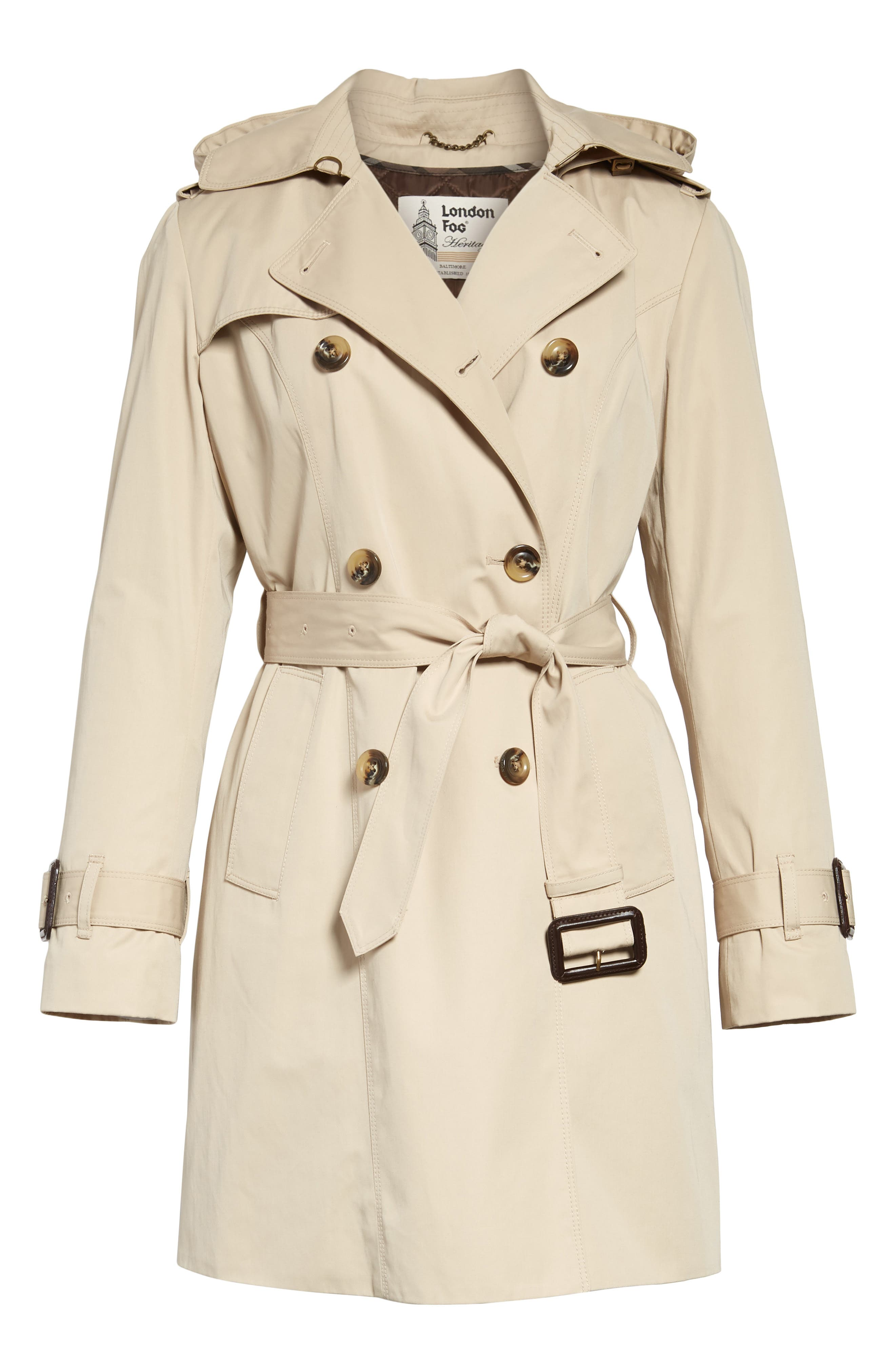 ,                             Heritage Trench Coat with Detachable Liner,                             Main thumbnail 7, color,                             250