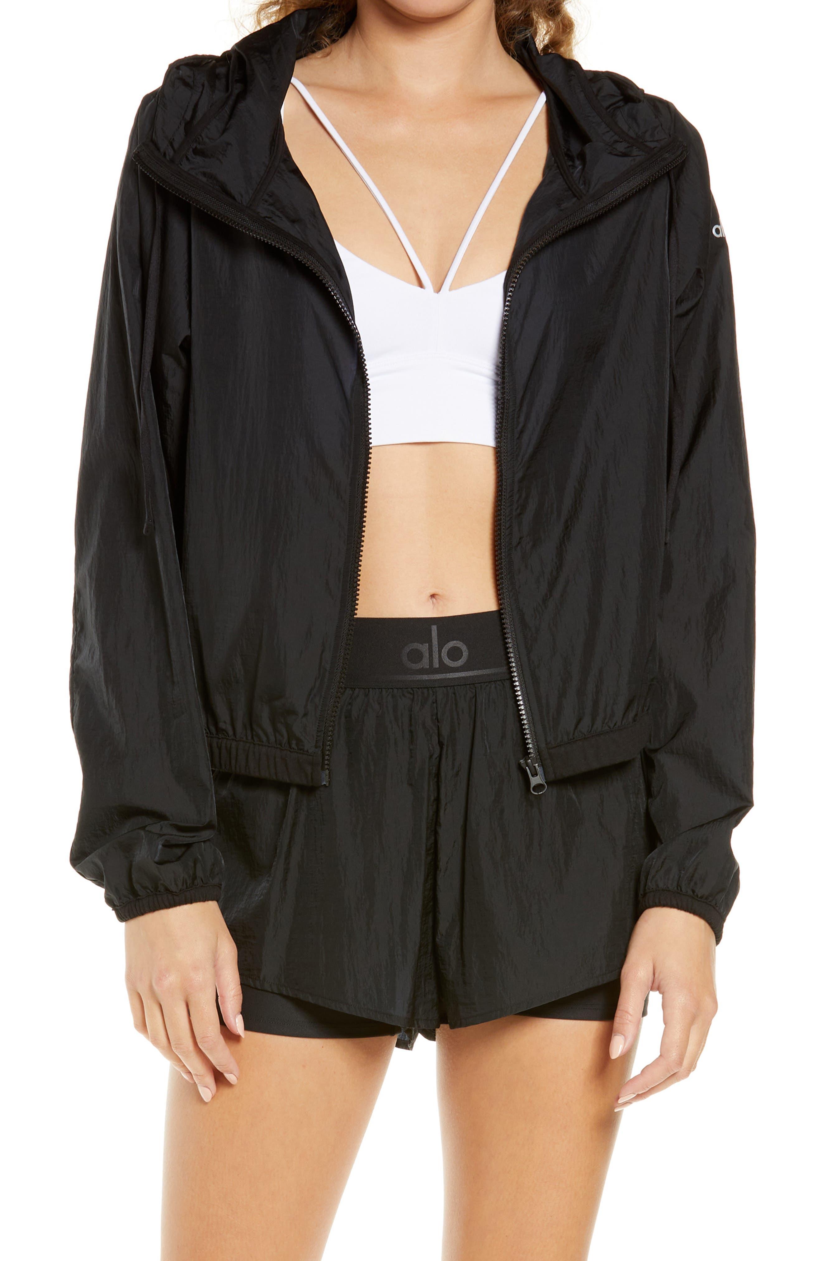 Light Hooded Zip Jacket