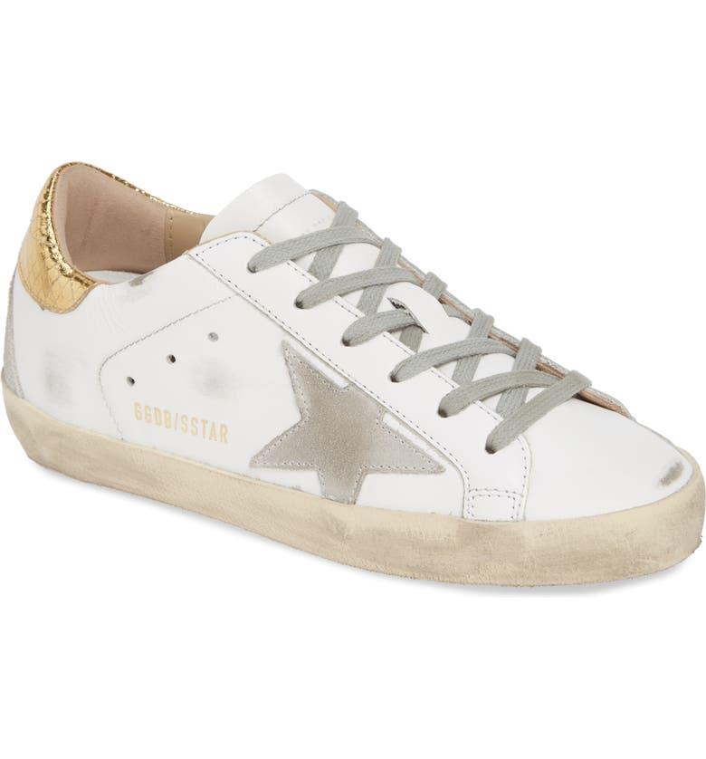 GOLDEN GOOSE Superstar Sneaker, Main, color, 100