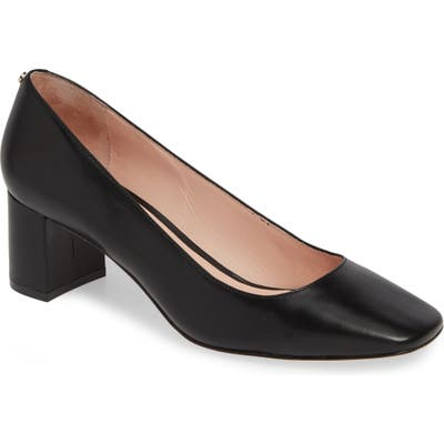Kate Spade New York Kylah Block Heel Pump, Black