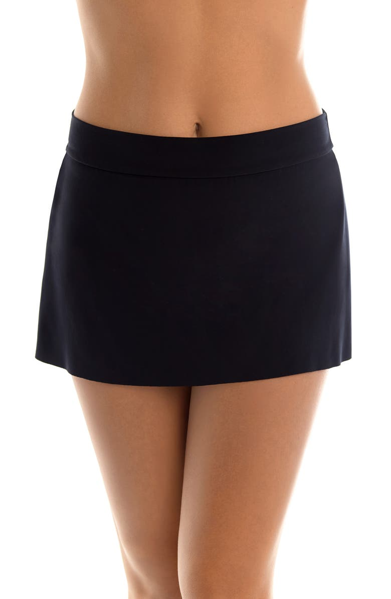 MAGICSUIT<SUP>®</SUP> Jersey Tennis Skirt, Main, color, BLACK