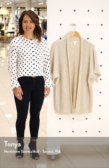 Open Front Dolman Sleeve Cardigan, sales video thumbnail