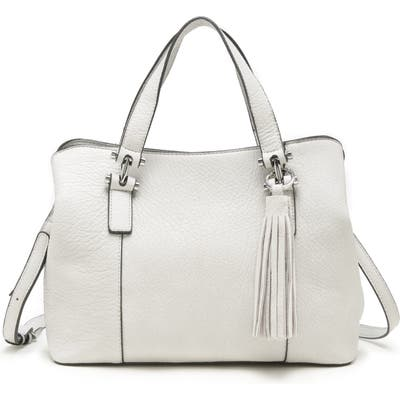 Sole Society March Faux Leather Satchel - Ivory