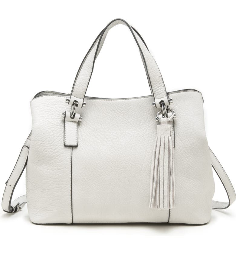 SOLE SOCIETY March Faux Leather Satchel, Main, color, 900
