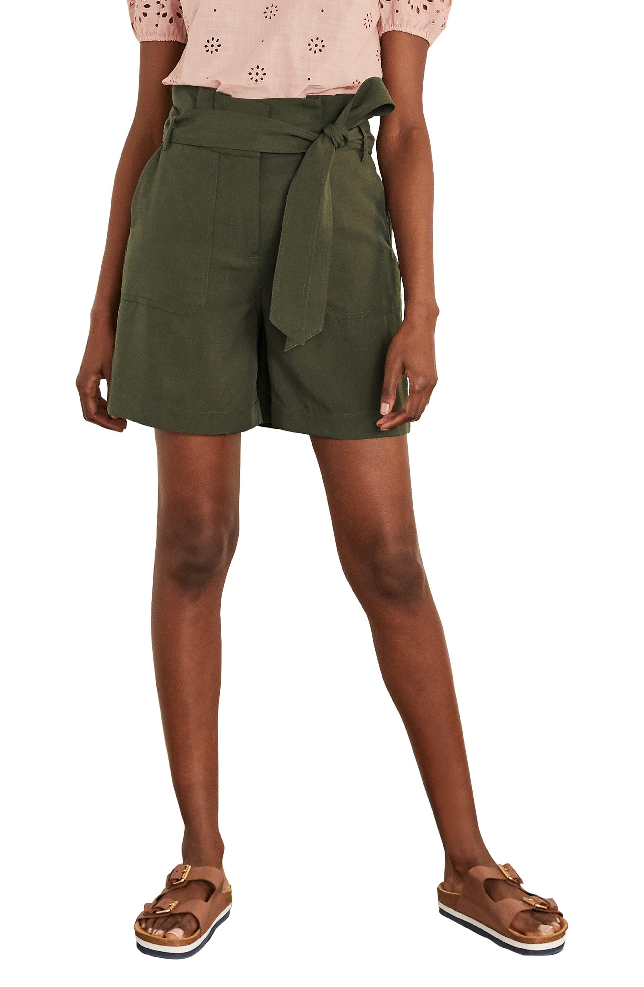 Elgin Paperbag Waist Shorts