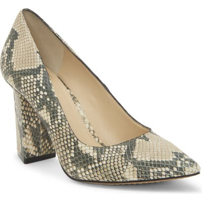 Vince Camuto Candera Pointed Toe Pump- Beige