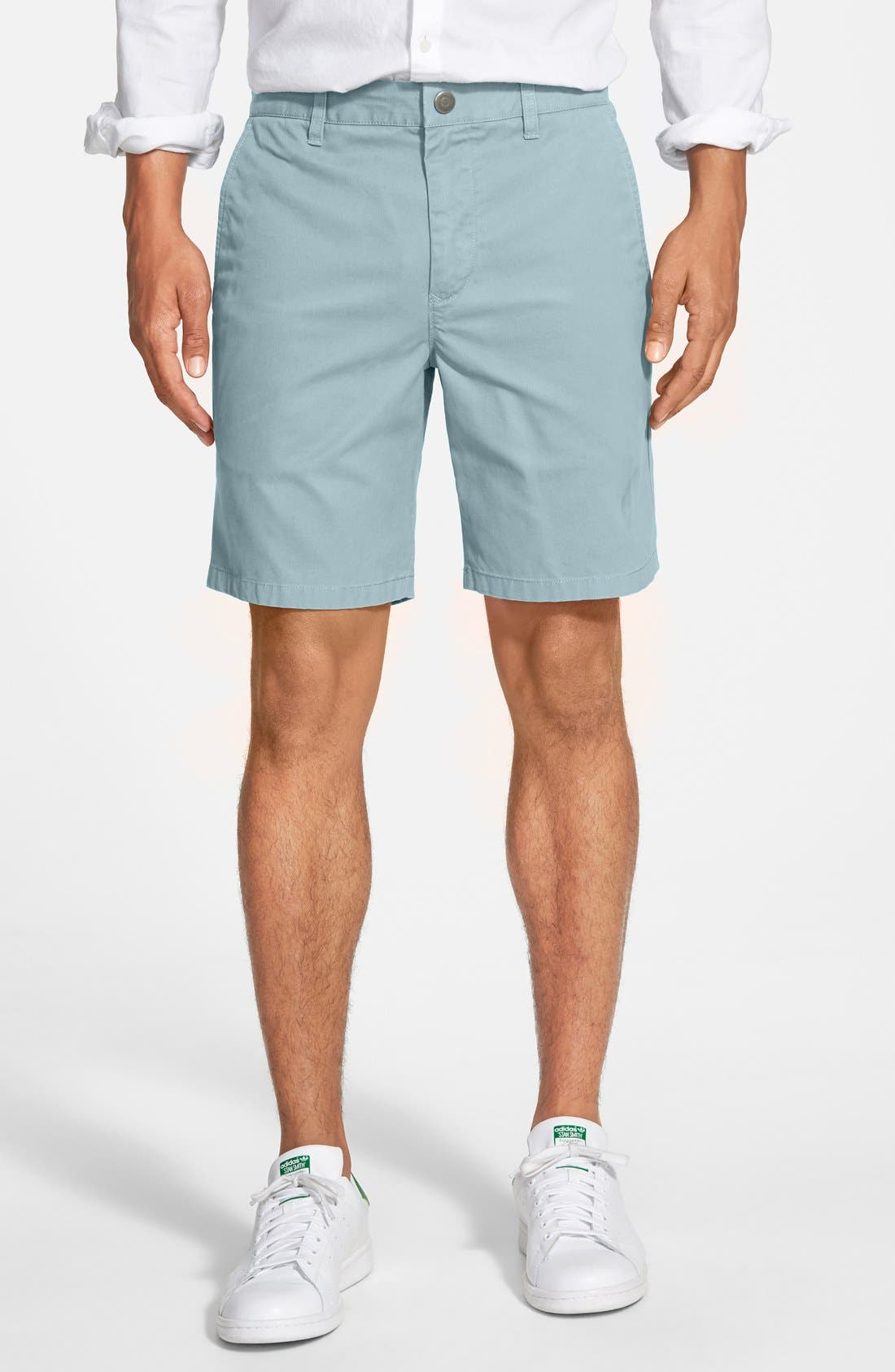 ,                             Washed Chino Shorts,                             Main thumbnail 66, color,                             435