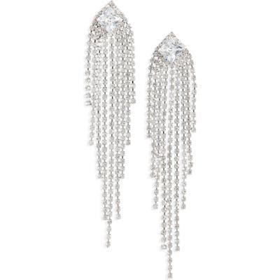 Bp. Crystal Linear Drop Earrings